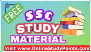 ssc study material